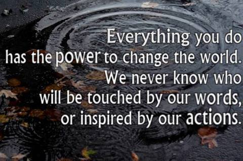 Power to change the world
